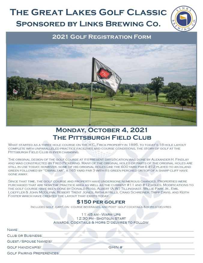 Registration Golf